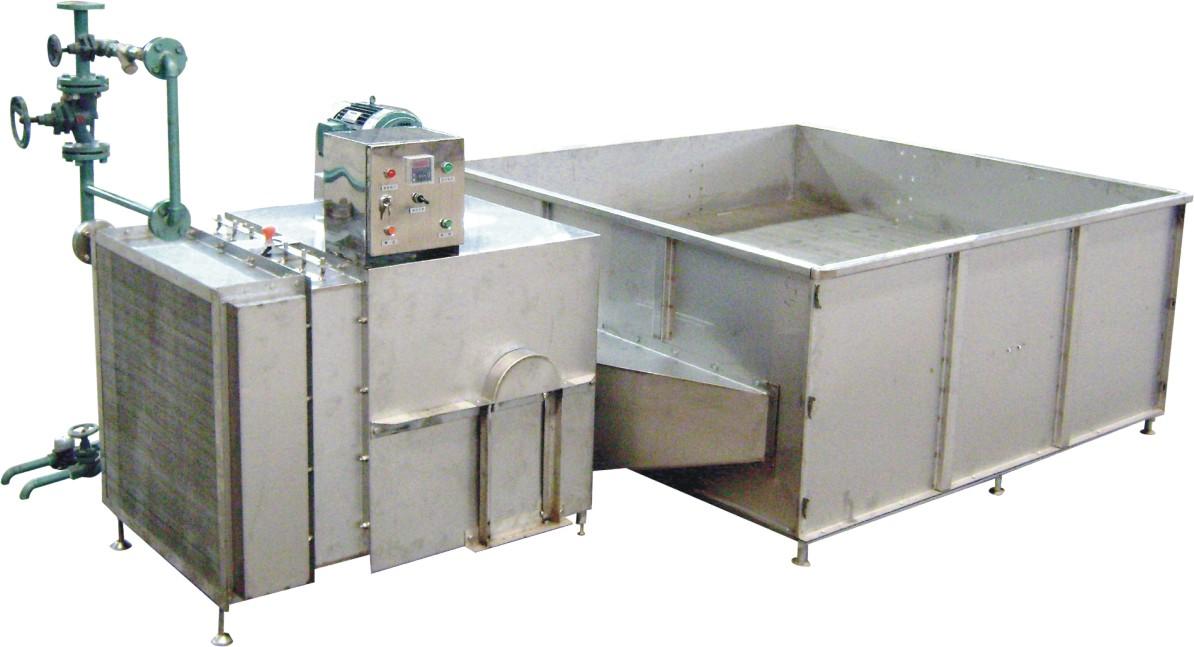 Máy sấy nông sản kiểu thùng sử dụng hơi nóng STJ-I