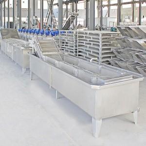 Máy Rửa Nông Sản Kiểu Băng Tải